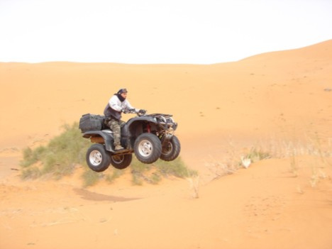 merzouga quad excursion